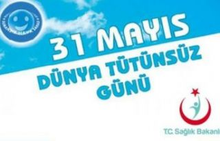 31 Mayıs dünya tütünsüz günü