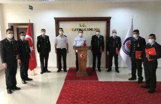 Kaymakam Fırat'tan Jandarma Personellerine başarı...
