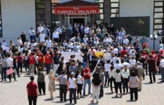 Tuncay Sonel Tunceli'den gözyaşları ile uğurlandı