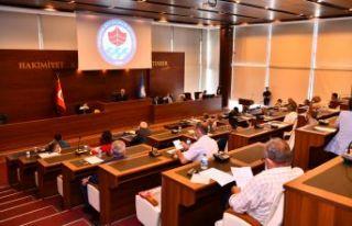 Büyükşehir Meclisi Temmuz toplantısını yaptı