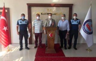 Kaymakam Fırat'tan belediye vefa grubuna başarı...