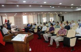 Kaymakam Fırat'tan VEFA SDG'de çalışan eğitimcilere...