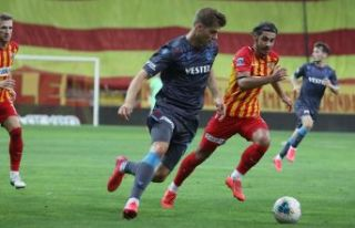 Trabzonspor Kayserispor'u yendi, ligi ikinci...