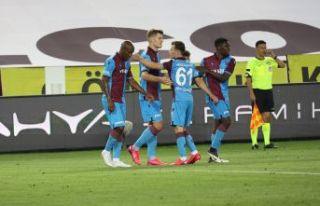 Trabzonspor sahasında Konyaspor'a 4-3 yenildi