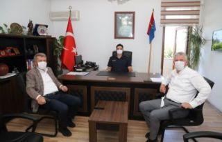 Başkan Sarıalioğlu'ndan Kantar ve Çelik'e...