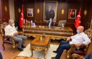 Başkanlar Sarıalioğlu ve Terzioğlu'ndan Kaymakam...