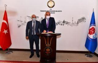 Kültür ve Turizm Bakanı Ersoy'dan Büyükşehir'e...