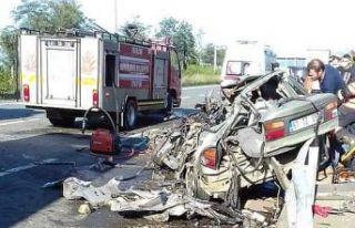 Sürmene'deki feci kazada Hakan Çakıroğlu vefat...