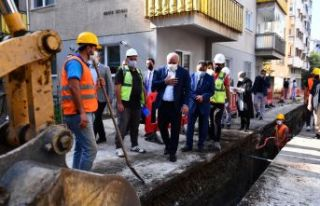 Başkan Zorluoğlu dev projenin çalışmalarını...