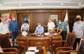 Of Belediyesi şirket çalışanlarının sözleşme...