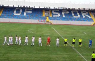 Yeni stadın açılışında Ofspor Alemdağspor ile...