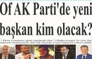 AK Parti'de yeni başkan kim?