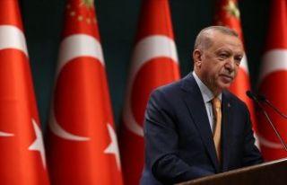 Cumhurbaşkanı Erdoğan: Yüz yüze eğitimin kapsamı...