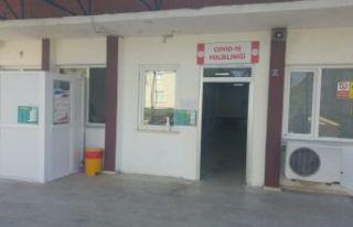 Of Devlet Hastanesi'nde COVİD-19 Polikliniği açıldı