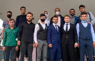 AK Parti Hayrat Gençliğin yeni başkanı Eren Öztel
