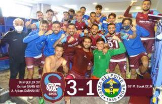 Ofspor koronadan Fatsa Belediyespor galibiyetiyle...