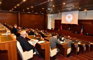 Büyükşehir meclisi Aralık ayı ilk toplantısı...