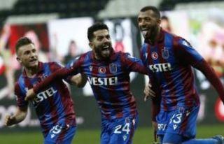 Süper Kupalı Trabzonspor Süper Lig'in lideri...