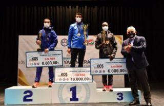 41.Maraton şampiyonları ödüllerine kavuştu