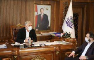 Başkan Muratoğlu'ndan Başkan Sarıalioğlu'na...