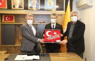 İl Başkanı Mumcu'dan AK Parti Of teşkilatına...
