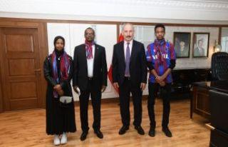 Somali Büyükelçisi Mohamed'den Büyükşehir'e...