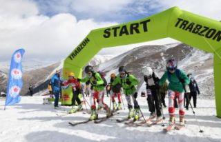Türkiye Dağ Kayağı Şampiyonası Haldızen'de...