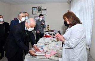 Başkan Zorluoğlu'ndan Kadın Eğitim ve İstihdamı...