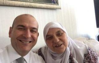 İçişleri Bakanı Soylu'nun annesi Servet Soylu...