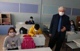 Of Merkez'de yüz yüze eğitim yeniden başladı