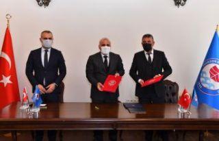Ganita-Faroz projesinde imzalar atıldı
