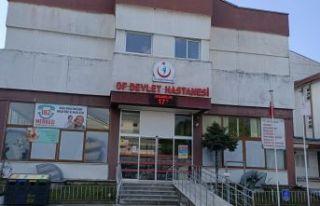 Of Devlet Hastanesi'nde Biontech Aşı uygulaması...