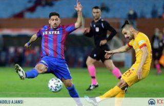 Trabzonspor direkleri ve kaleci Doğan'ı geçemedi