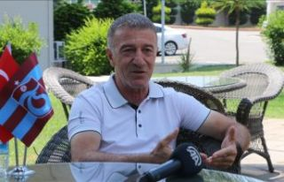 Ağaoğlu'nun yeni sezonda şampiyonluğa inancı...