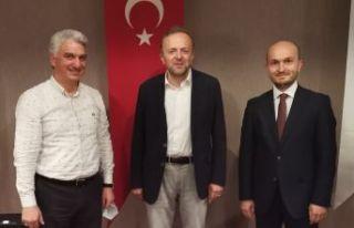 BİK Genel Müdürü Duran Trabzon'da gazete temsilcileriyle...