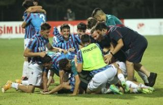 Süper Lig U 19'un şampiyonu Trabzonspor