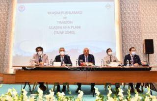 Trabzon ulaşım master planı çalışmaları masaya...