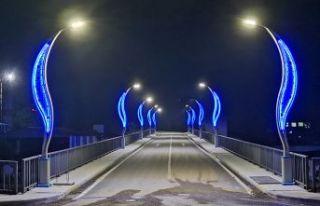 Ballıca ve Yemişalan Köprüsü ışıklandırıldı