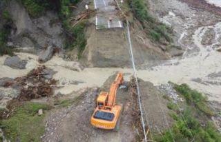Şiddetli yağış bu kez Kastamonu, Bartın ve Sinop'u...