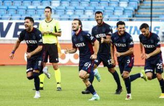 Trabzonspor, Molde'yi penaltılarla eledi