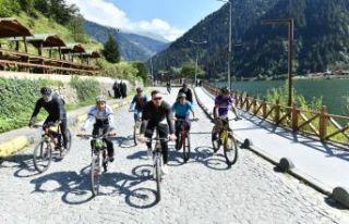Avrupa Hareketlilik Haftası nedeniyle Bisiklet Turu...