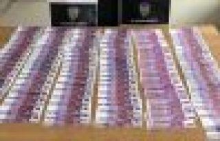 65 Bin EURO sahte para ile yakalandı