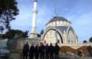 Ahi Evren Cami ve otopark inşaatı tamamlandı