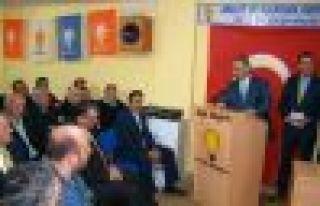 Ak Parti Of İlçe Danışma Kurulu Toplandı