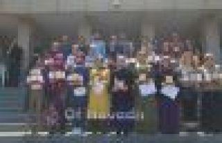 Ali Yeşilyurt İmam Hatip Ortaokulu'nda karne heyecanı