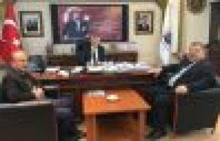 Ayaz'dan Başkan Sarıalioğlu'na ziyaret