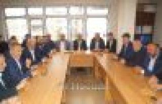 Balta'dan AK Parti Of İlçe Teşkilatına ziyaret