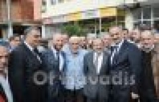 Başkan Gümrükçüoğlu Of'ta partililerle buluştu...