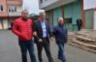 Başkan Sarıalioğlu, Çataldereli vatandaşları...