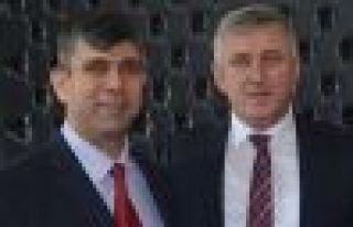 Başkan Sarıalioğlu'ndan Müdür Şenel'e ziyaret